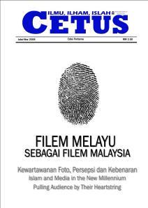Muka hadapan majalah CETUS kami..