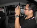 Kameraman..cian terpaksa ambik shoot paling susah. Bravo bro..