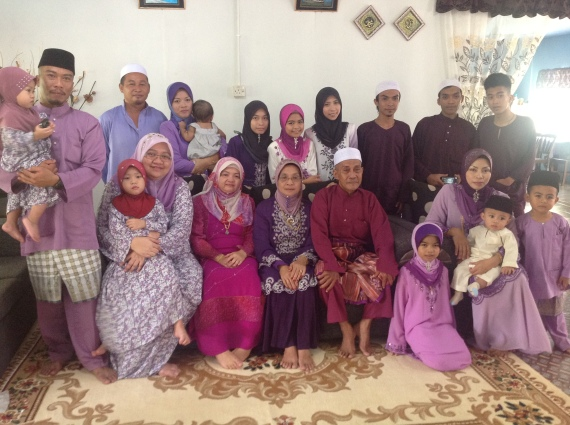 My big family ever. I love you all with my heart.